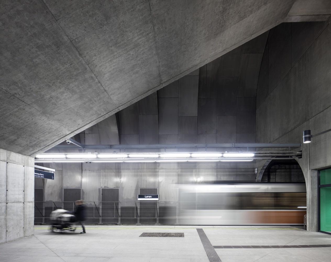 Ivan Brodey / Løren Metro Station / Arne Henriksen Arkitekter + MDH Arkitekter