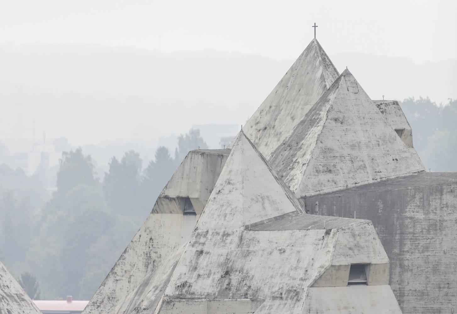 Laurian Ghinitoiu / Pilgrimage Church / Gottfried Böhm
