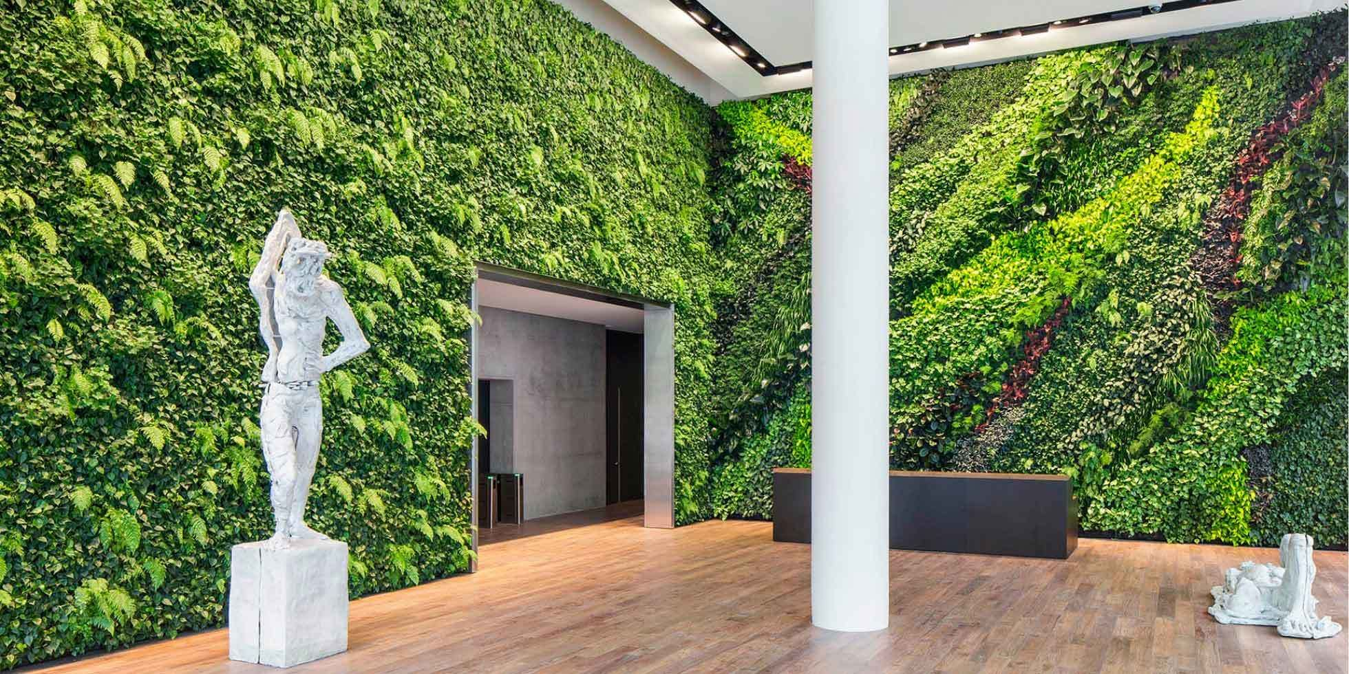 Foundry Square III Interior Living Wall